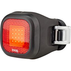 Knog Blinder Mini Chippy Reflektor tylny LED, czerwony/czarny